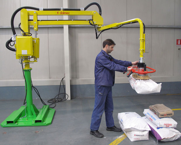 Lifting Boxes For Lift Assists : Industrial manipulators and lift assist devices dalmec